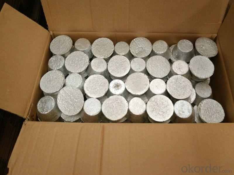 Aluminum Titanium Boron /AlTi5B1 Ingots/Coils/Rods/Bars