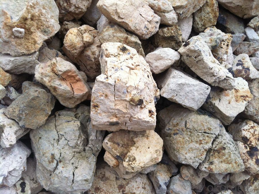 Kiln Calcined Bauxite for High Alumina Brick of CNBM in China