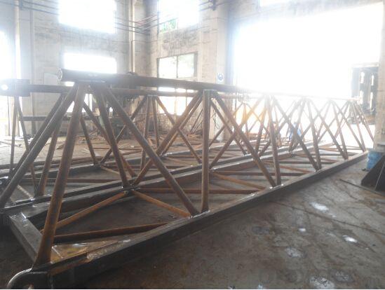 8ton tower crane Q5516 QTZ125 high quality