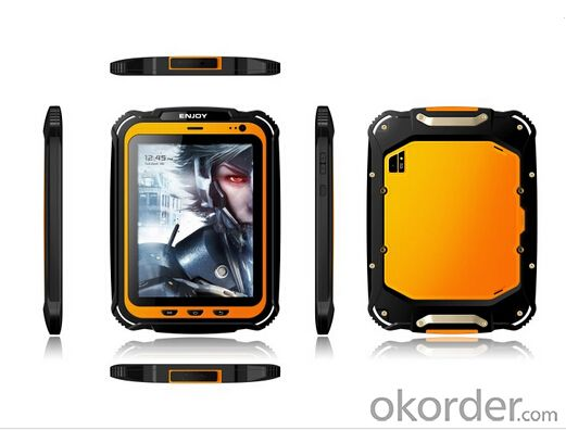 Rugged 8 inch Android Tablet PCQuad core with 3G and Barcode Reader Optional