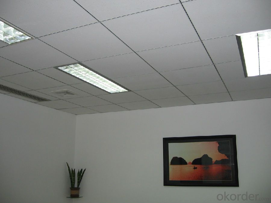 Mineral Fiber Acoustic Suspended Ceiling Tiles