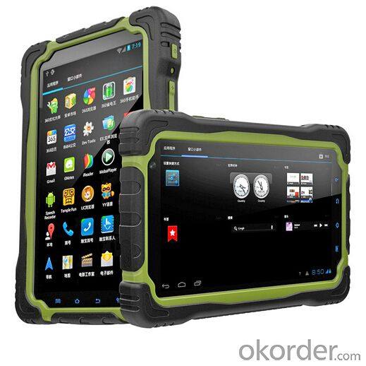 7 inch Waterproof NFC Rugged Tablet with Android GPS 3G NFC Tablet PC T70