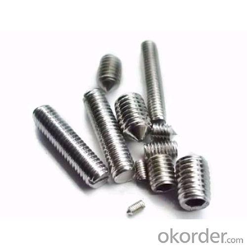 Stainless Steel ISO7380 Hexagon Socket Button Head Machine Screw