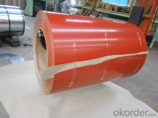 Prepainted Galvanized Steel-CGC340--Excellent Process Capability
