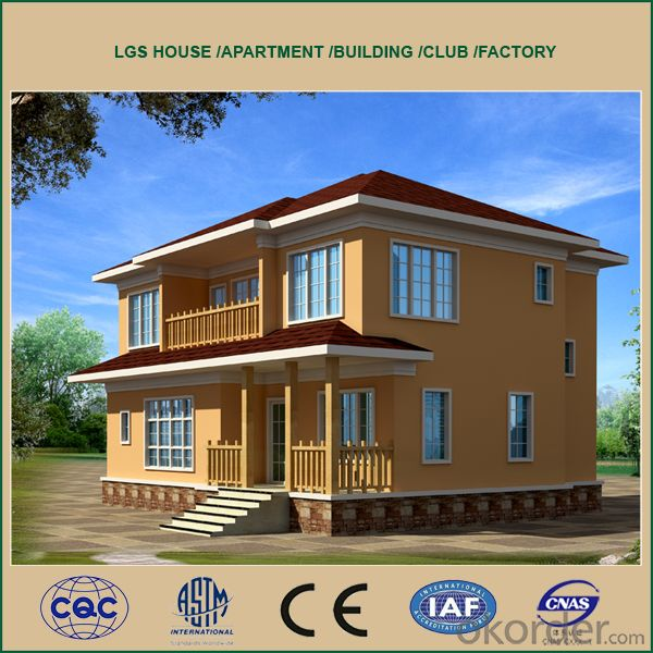 Cheap Prefabricated House with Good Quality