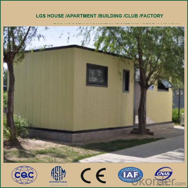 Cheap and Good Quality Prefabricated House
