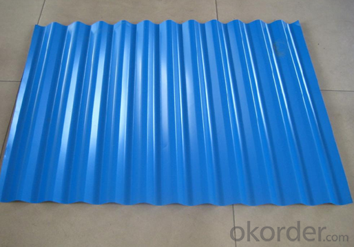 Pre-Painted Aluzinc Steel Coil for Sandwich Wall Thinkness 0.3mm-2mm Width 1250mm