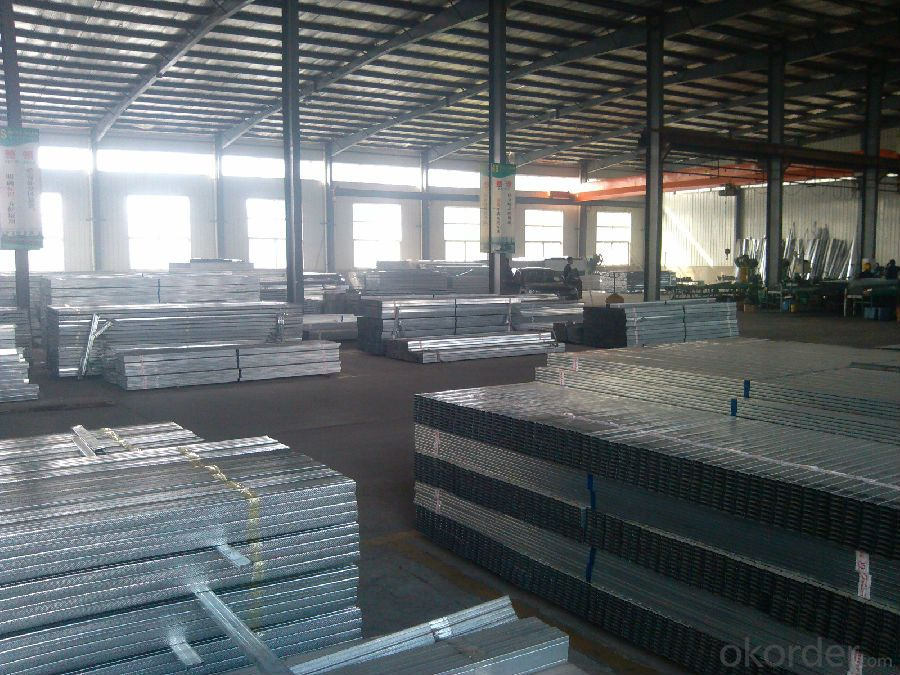 Drywall Partition Galvanized Metal Stud factory