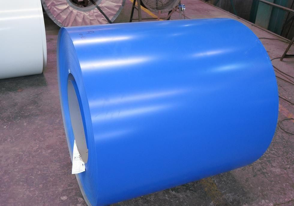 Pre-painted Galvanized/Aluzinc  Steel Sheet Coil with Prime Quality Blue Color