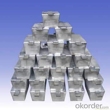 Aluminium Ingots 99.7% Made By China Professional Manufacturer