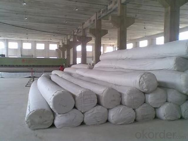 PET Woven Geotextile Used for Roadbeds Construction