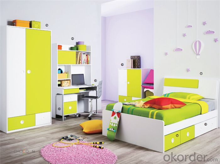Princess Bedroom Set with Environmental Material