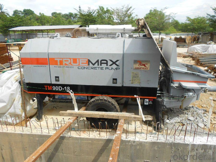 Trailer Mounted Concrete Pump HBT 90.21.220D