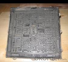 Heavy Duty  Ductile Iron Manhole Cover D400 EN124 For Sale