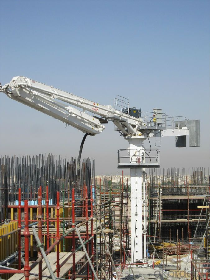 Lattice Tower Type Concrete Placing Boom 51M With 4 R-Stage