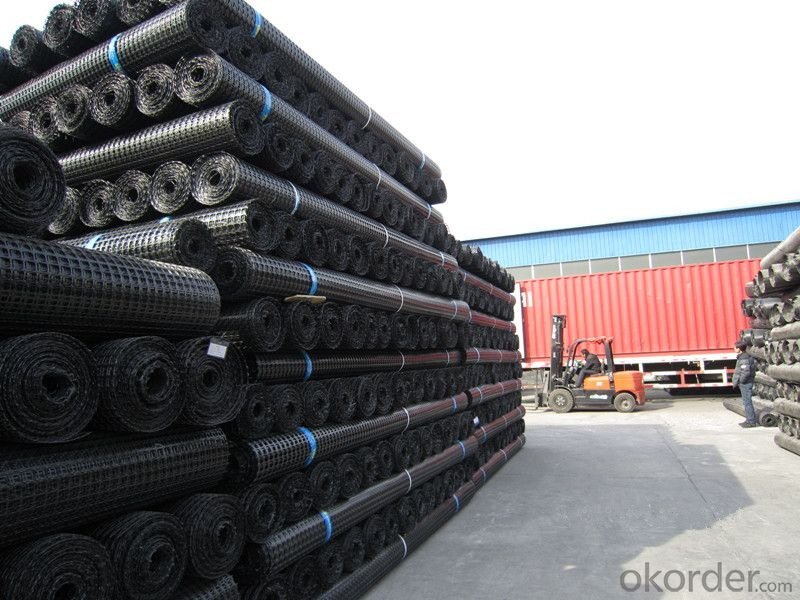 PP Biaxial Geogrid with CE certification