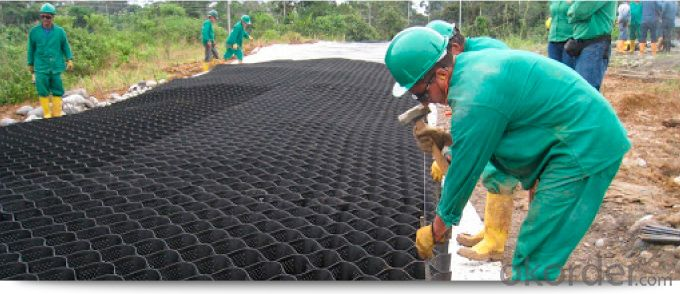 Geocell of Enhanced HDPE for Architectural Engineering