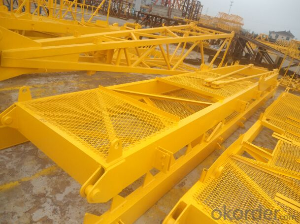QP7527 16 tons Flat-top Tower Crane TCP7527