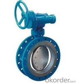 Butterfly Valve Ductile Iron Wafer Sanitary