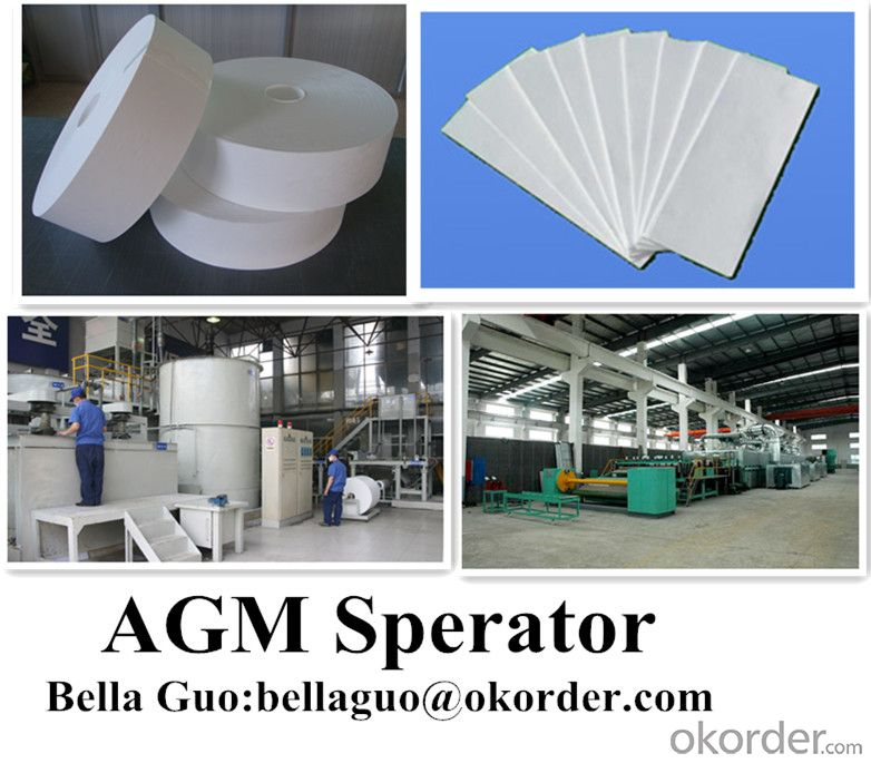 AGM Separator  For UPS Bettary under ASTM Test