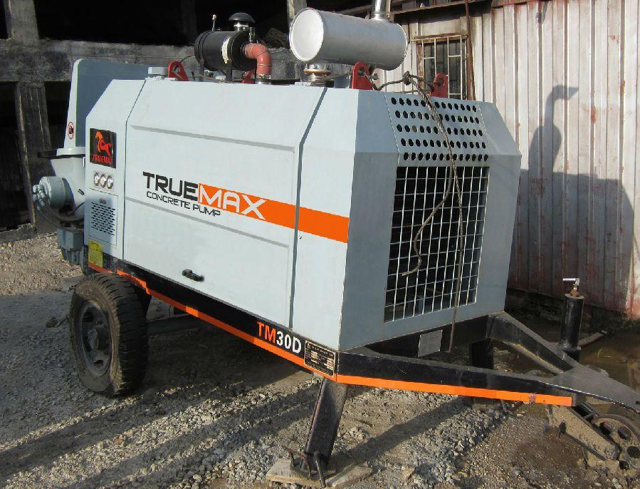 Stationary Trailer Mounted Concrete Pump HBT 30.10.55D