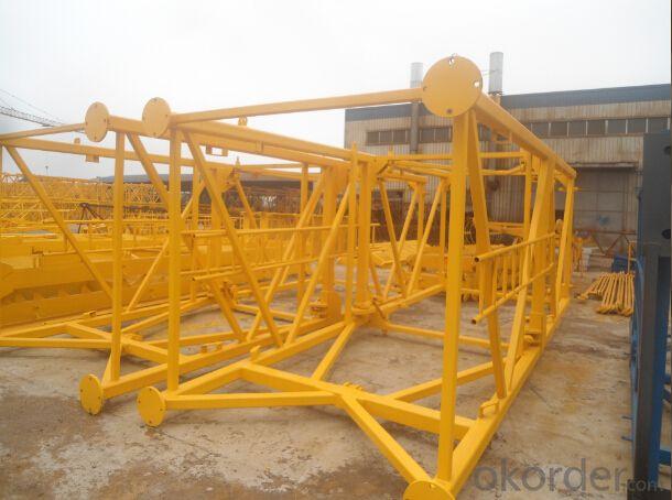 Luffing jib crane QD120-8tons TCD4522 highquality
