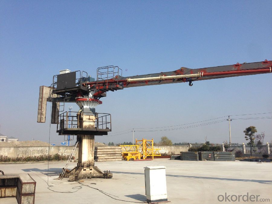 Self-Climbing Type Concrete Placing Boom 32M With 4 R-Stage