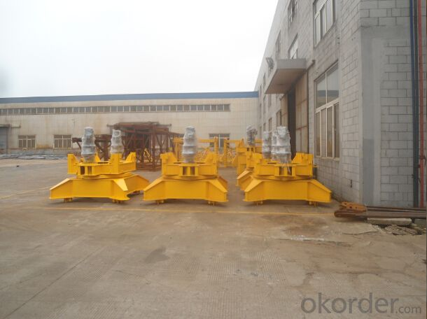 8ton tower crane Q6513 QTZ125 high quality
