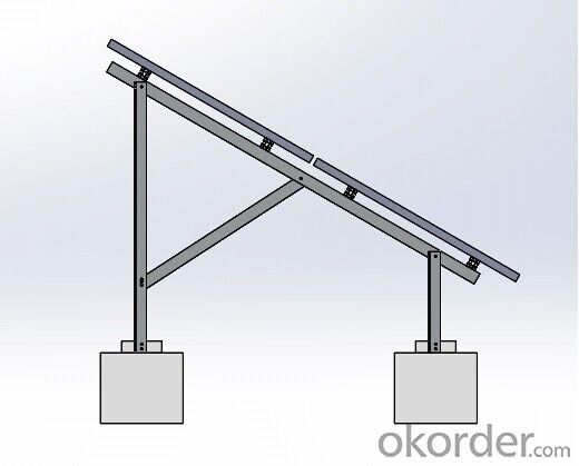 Concrete Support System, Solar System Bracket