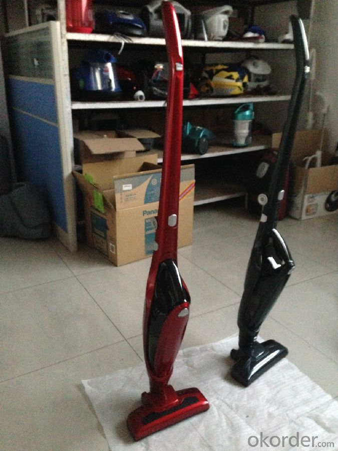Cordless Upright Vacuum Cleaner Rechargeable Portable Cyclonic Sticker