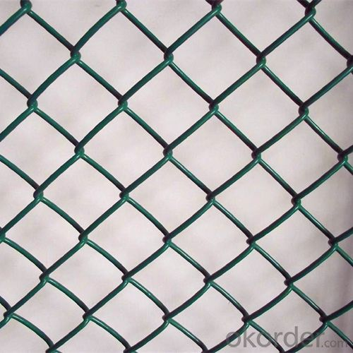 Chain Link Fence/PVC Coated Chain Link Fence