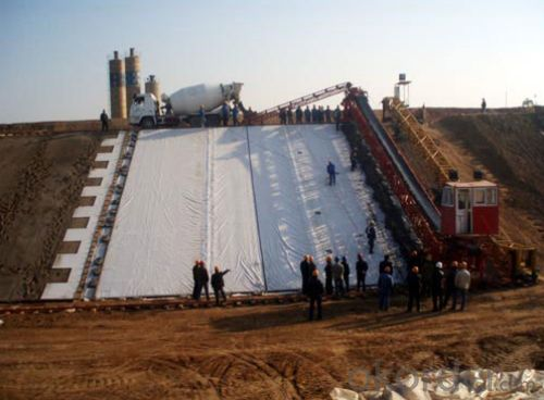 Composite Geomembrane with Nonwoven Geotextile