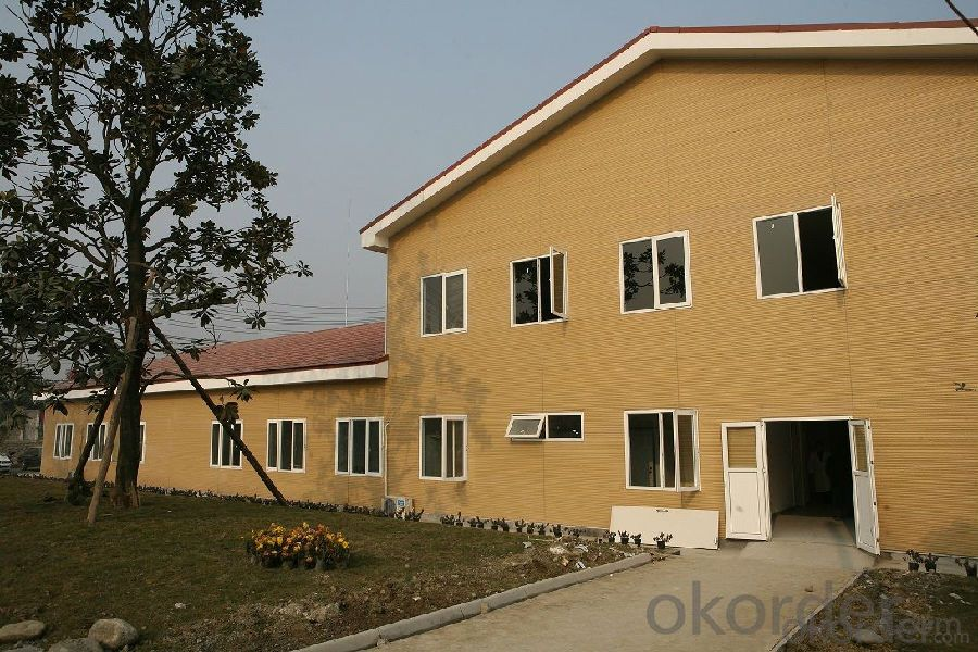 Prefabricated House Designed for Hostipal