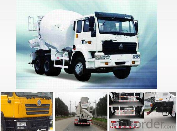 12m3 Smart Concrete Mixer Truck with Good Quality