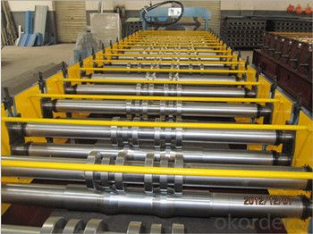 Cut-to-length Ridge Cap Roll Forming Machine