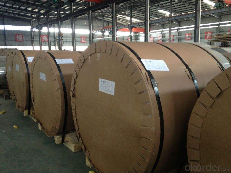 Plain Aluminium Coils Used for Construction