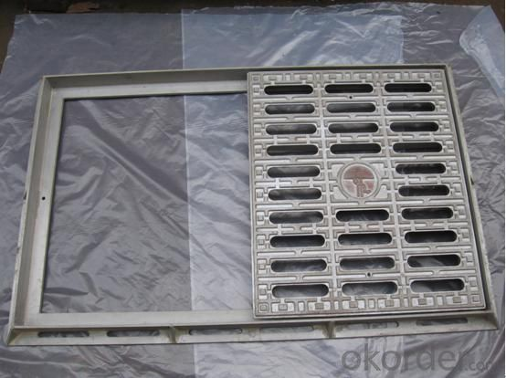 Grating Square Ductile Cast Iron Rain Grate with Frame Can be Customised
