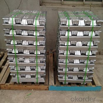 Aluminium Ingot With Factory Price High Purity 99.7%