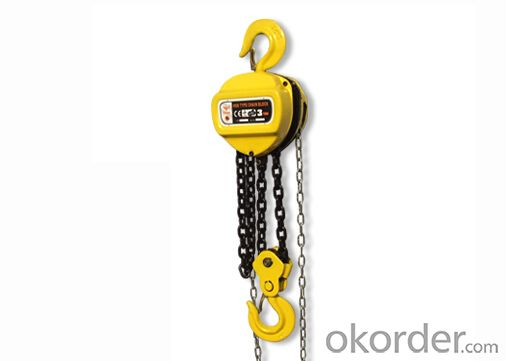Round Chain Hoist 3 ton Chain Pulley Block