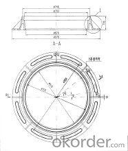 Manhole Cover High Quality Cast Iron Ductile Iron