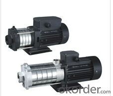 Horizontal Multistage Designed Stainless Steel Pumps