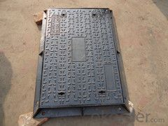 Manhole Cover D400 Ductile Casting Iron Casting Components