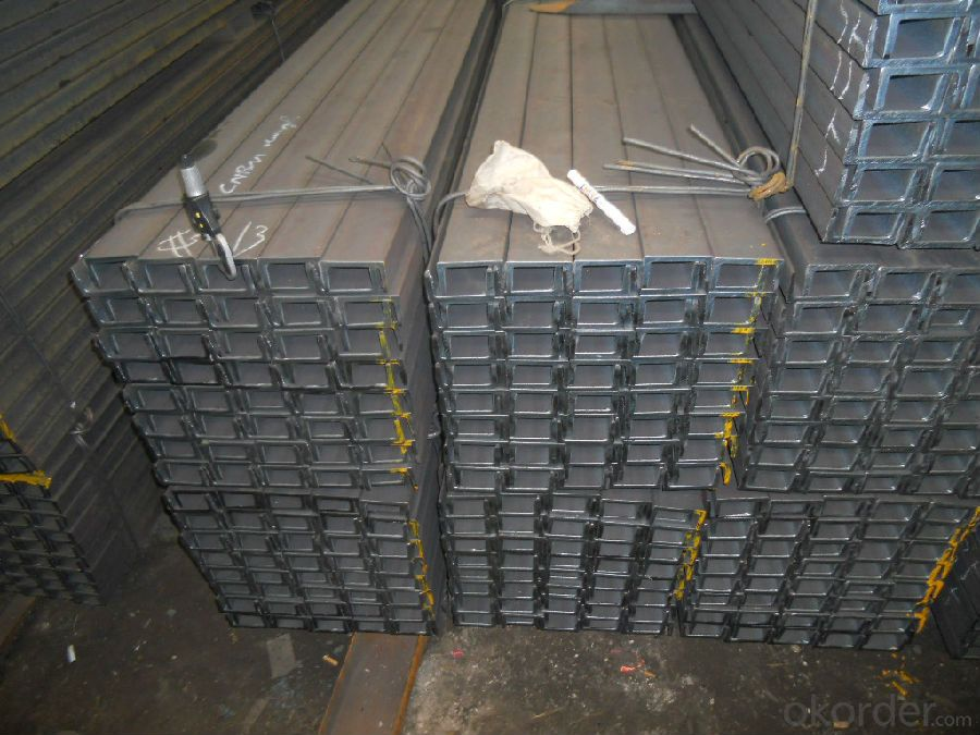 Hot Rolled Steel U Channels of JIS Standard for Structures