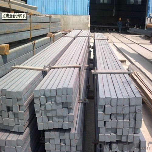 Steel Square Straight Bars Chinese Standard