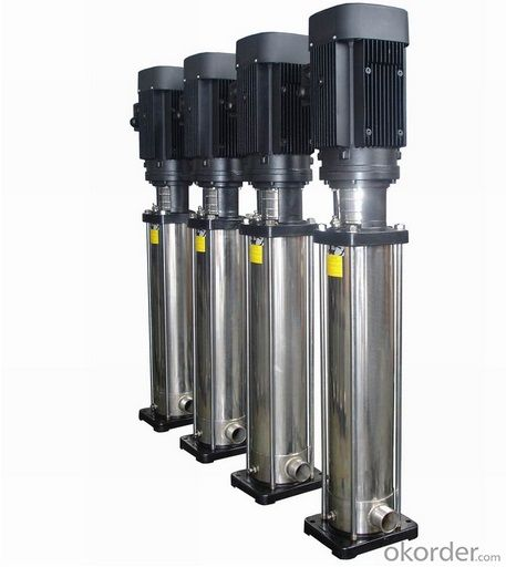 CDL Series Stainless Steel Designed Vertical Multistage Cetnrifugal Pump