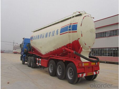 Hot Sale Smart Cement Semi Trailer with Good Quality