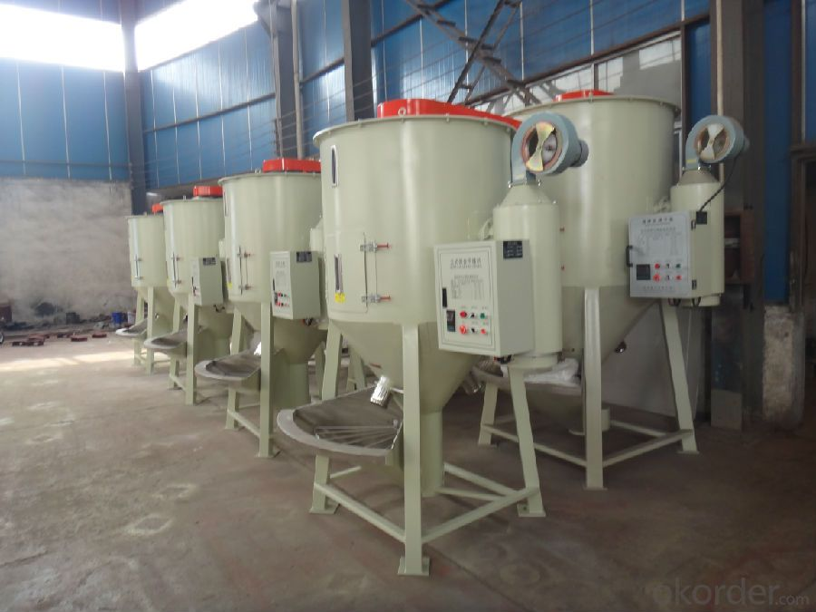 Plastic Dryer and Mixer with High Efficiency