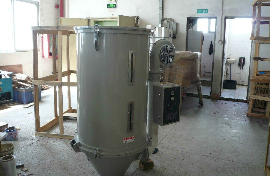 Plastic Mixing Drying Machine Plastic Hopper Dryer for 500kg Pellets