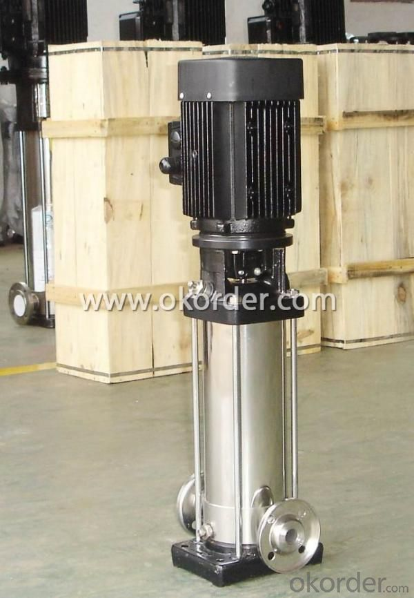 CDL Series Stainless Steel Designed Vertical Multistage Pumps