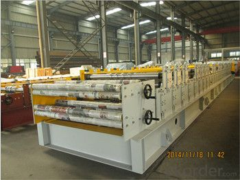High Speed Trapezoidal sheets Roll Forming Machine with ISO Quality System
